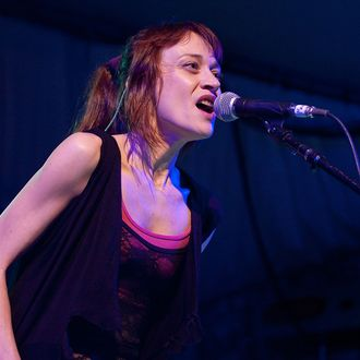 AUSTIN, TX - MARCH 14: Musician Fiona Apple performs onstage during the 2012 SXSW Music, Film + Interactive Festival at Stubb's on March 14, 2012 in Austin, Texas. (Photo by Rick Kern/Getty Images). (Photo by Rick Kern/Getty Images)