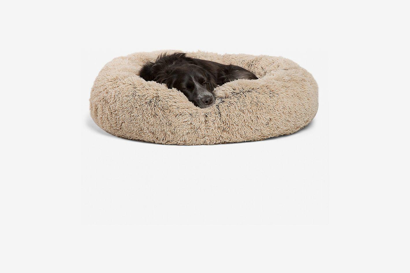 Best Friends by Sheri Luxury Shag Faux Fur Donut Cuddler Pet Bed