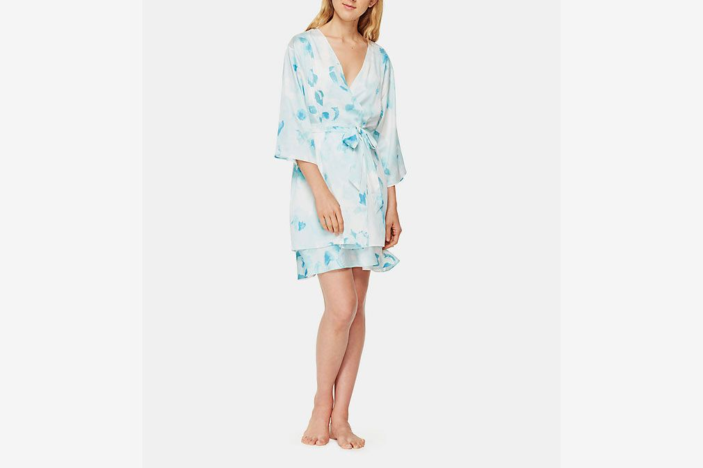 Kate Spade New York Floral Short Robe