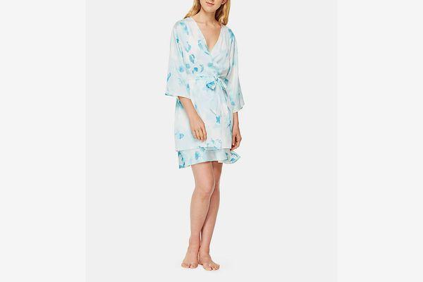 Kate Spade New York Floral Short Robe