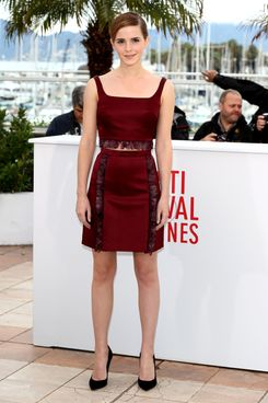 Actress Emma Watson attends 'The Bling Ring' photocall during the 66th Annual Cannes Film Festival at Palais des Festival on May 16, 2013 in Cannes, France.