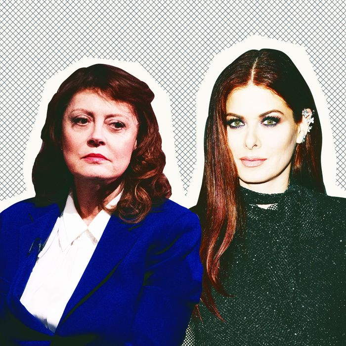 Susan Sarandon and Debra Messing.