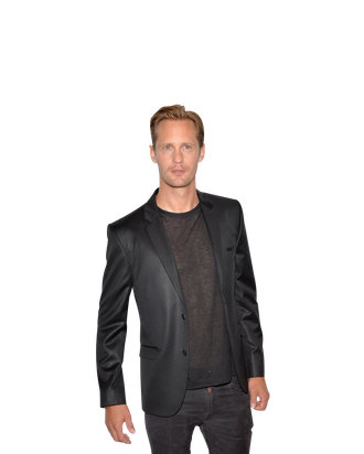 NEW YORK, NY - SEPTEMBER 12: Actor Alexander Skarsgard attends the Calvin Klein Collection post fashion show event during Mercedes-Benz Fashion Week Spring 2014 at Spring Studios on September 12, 2013 in New York City. (Photo by Andrew H. Walker/Getty Images)