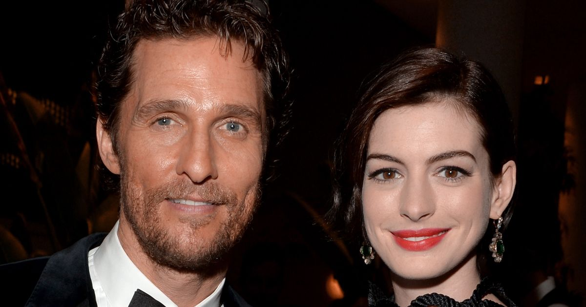 Matthew McConaughey and Anne Hathaway Are in Talks to Find ...