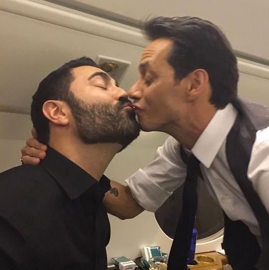 Marc anthony is kissing everyone not just jlo vulture marc anthony wants you to know that he is kissing everyone not just jlo m4hsunfo