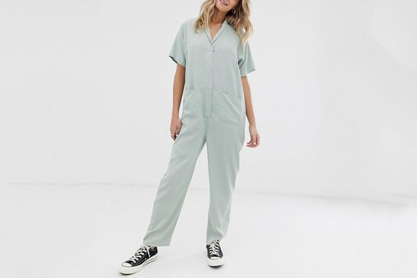 ASOS Design Slouchy Minimal Boilersuit