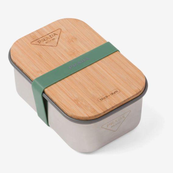 Prada Stainless Steel Sandwich Box