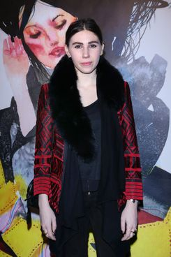 Actress Zosia Mamet arrives to alice + olivia By Stacey Bendet And David Choe Celebrate A Night Of Fashion And Art on November 20, 2013 in New York City.