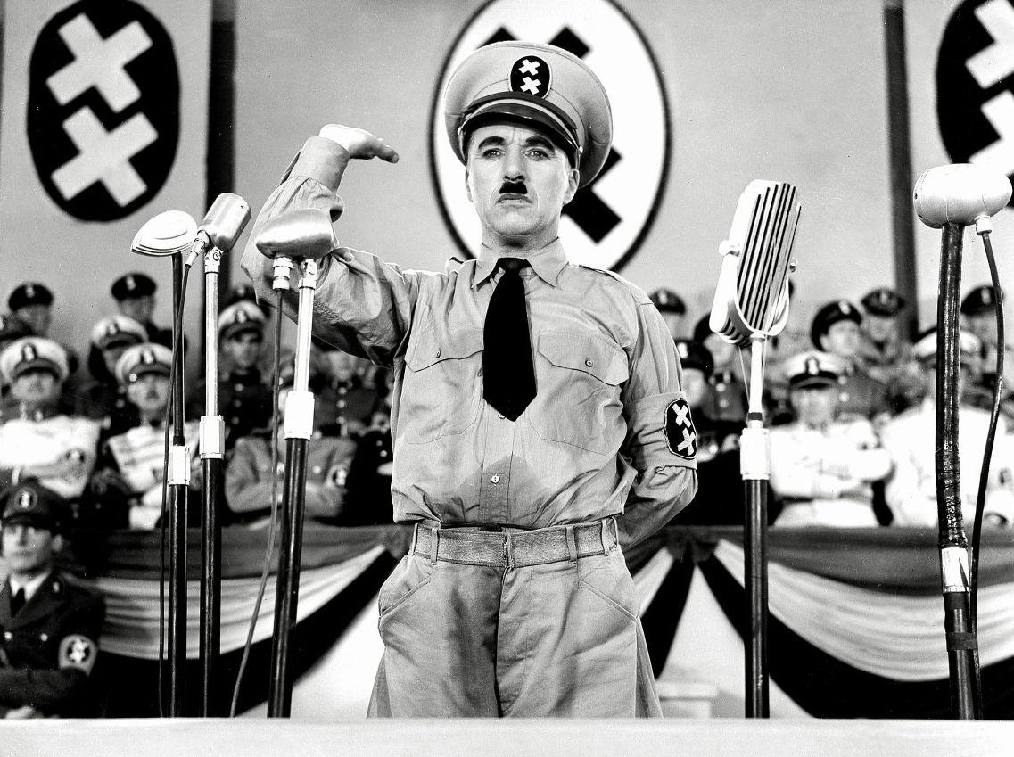 「chaplin the dictator」的圖片搜尋結果