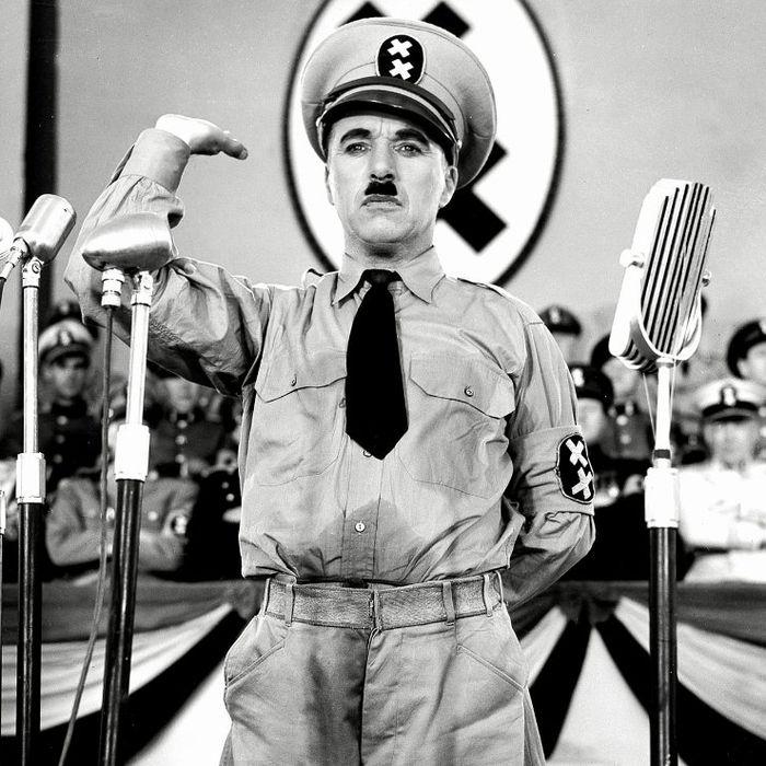 the dictator chaplin