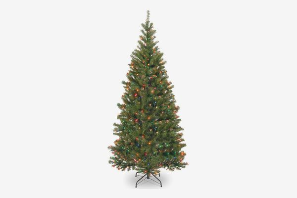 National Tree 6' Spruce Tree with 300 Multi-color Lights