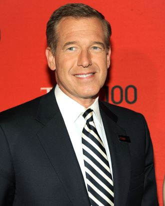 Brian Williams attends the TIME 100 Gala