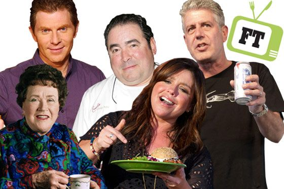 Love 'em or hate 'em, there's no denying the infulence of food TV's biggest names.