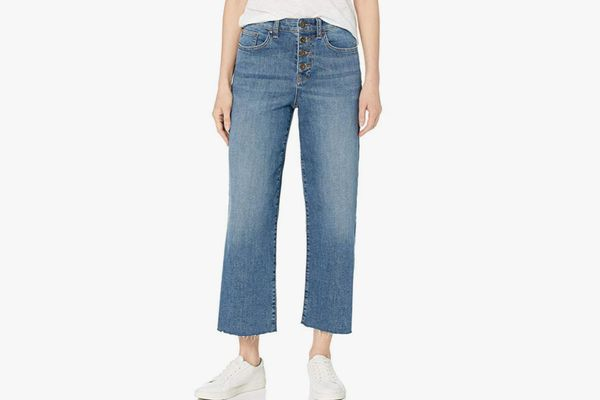 Daily Ritual Women's Wide-Leg Crop Jean