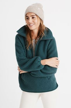 Madewell Polartec® Fleece Half-Zip Jacket