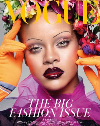 e2e46191f612 Rihanna Is British Vogue s September Cover Star