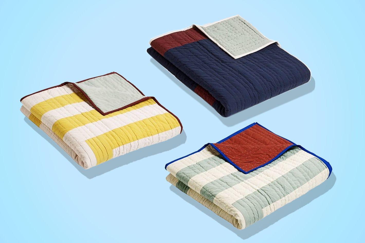 Hay Reversible Cotton Quilt