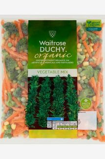 Waitrose Duchy Organic Frozen Vegetable Mix