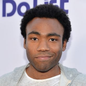 WESTWOOD, CA - JULY 23: Actor Donald Glover attends the premiere of CBS Films'