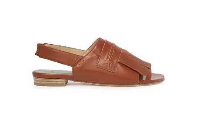 Mayiet Carson Fringe Slingback Sandals