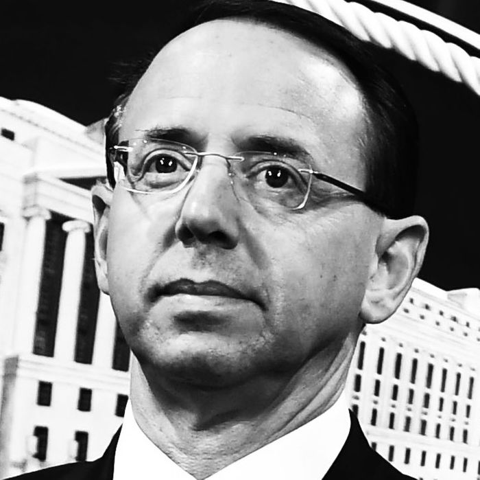 During William Barr's press conference, all eyes were on Rod Rosenstein's eyes.