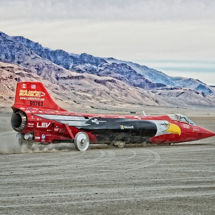 Land Speed Record >> This 75 Year Old Is Set To Break The Land Speed Record