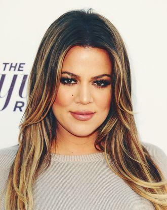 Khloe Kardashian.