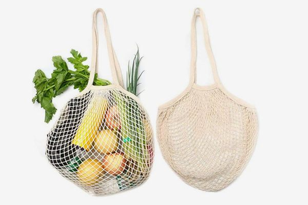Reusable Organic Cotton Grocery Bags