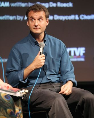 Philip Rosenthal speaks at the BAFTA Rocliffe New Writing Forum -