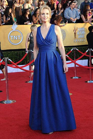 Jane Lynch== 18th Annual Screen Actors Guild Awards== Shrine Auditorium, Los Angeles, CA== January 29, 2012== ?Patrick McMullan== Photo - ANDREAS BRANCH/PatrickMcMullan.com==