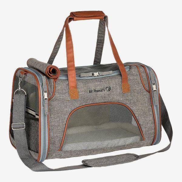 Mr. Peanut's Gold Series Airline-Approved Dog & Cat Carrier Bag