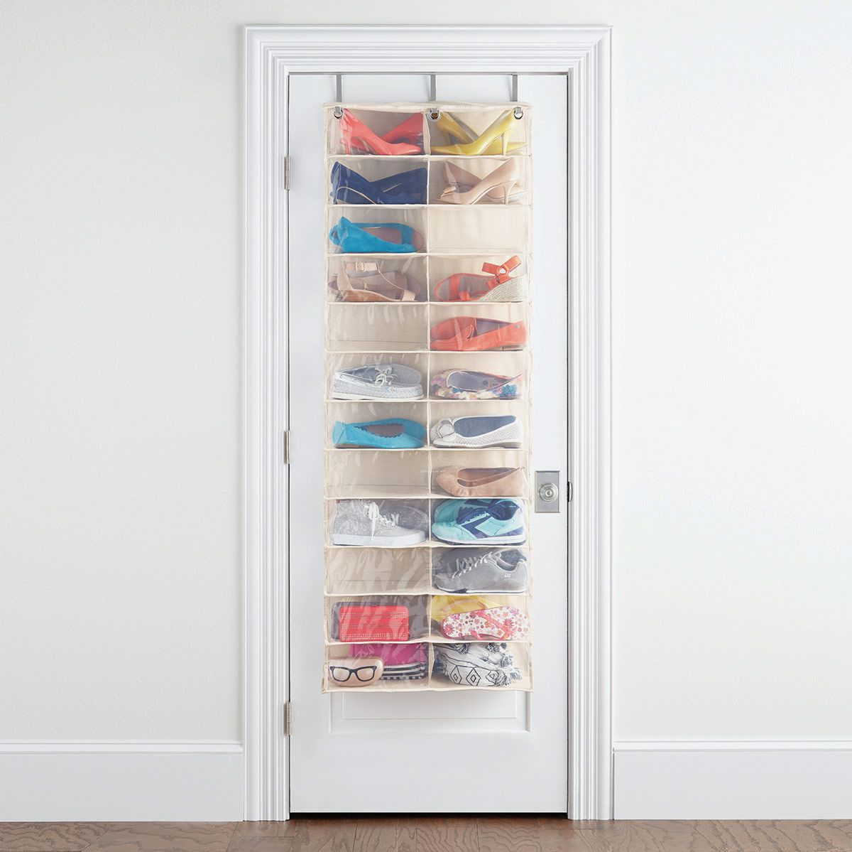 The Container Store 24-Pocket Over the Door Shoe Organizer