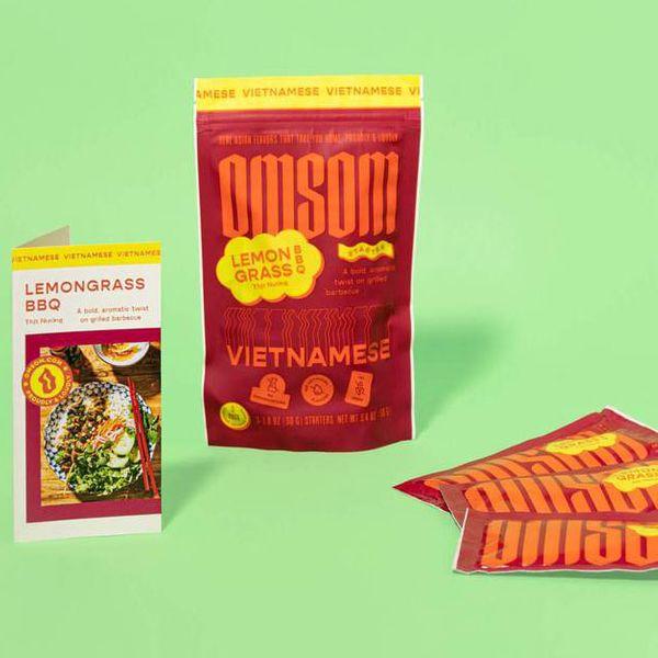 Omsom Vietnamese Lemongrass BBQ