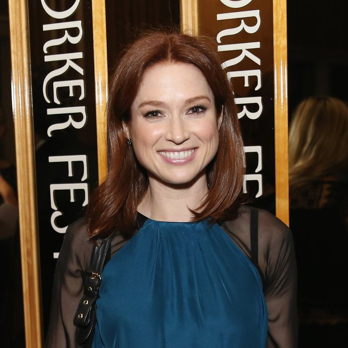 Ellie Kemper at the 2015 New Yorker Festival Wrap Party on October 3, 2015 in New York City.