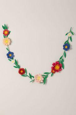 BHLDN Paper Flower Garland