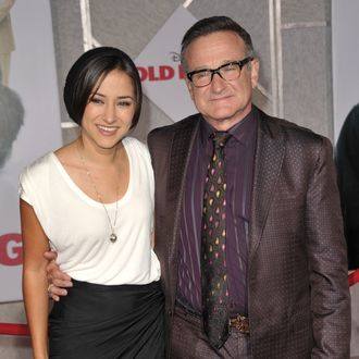 HOLLYWOOD - NOVEMBER 09: Zelda Williams and Robin Williams arrive at the