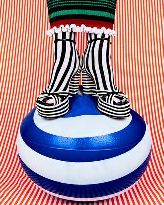 4568e9b4f810f Stripes on stripes by Kenzo, Aquazurra, & Emilio Cavallini