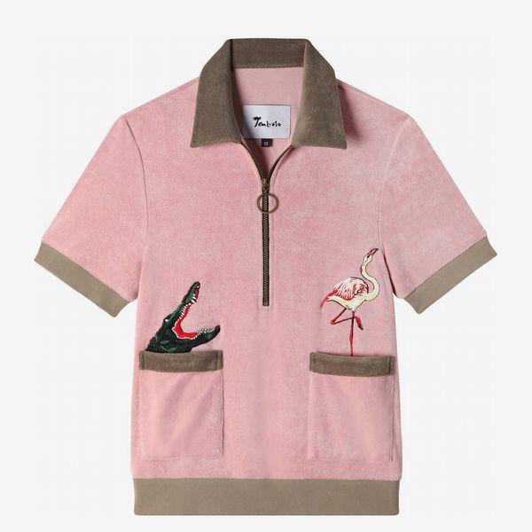 Flamingo Tartare Cabana Shirt