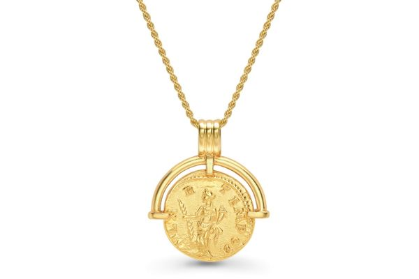 Lucy Williams x Missoma Roman Gold Coin Necklace