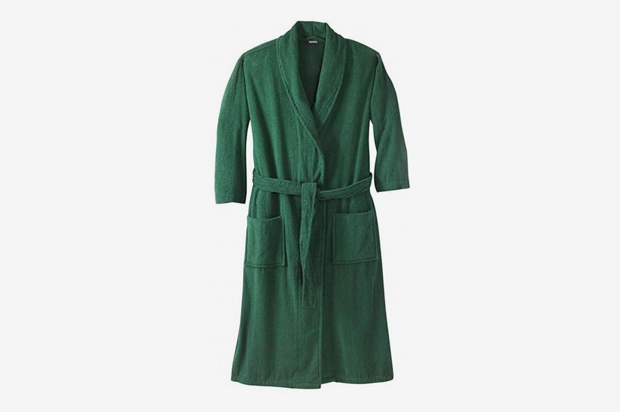 KingSize Men s Big   Tall Terry Bathrobe With Pockets e9f9c9d19