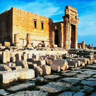 Ruins of temple of Bel or Baal