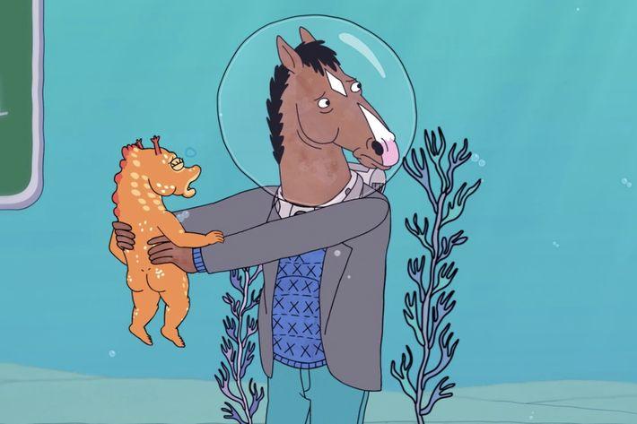 Will Arnett as BoJack Horseman.