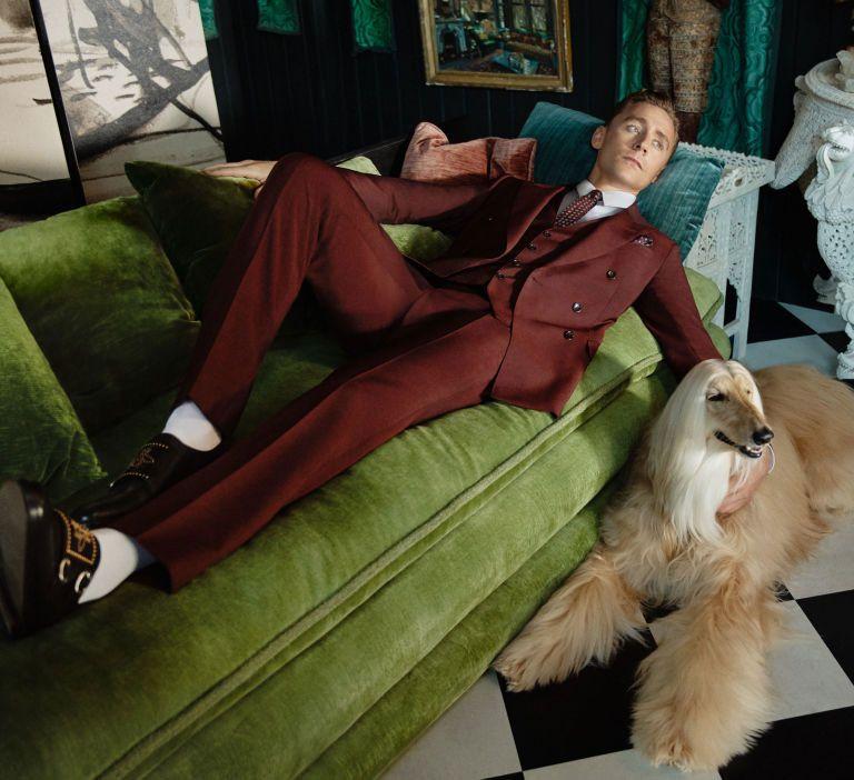 Tom Hiddleston Stars In Gucci Cruise 2017 Campaign