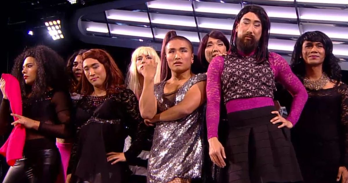 Watch Quest Crew's Ariana Grande Drag Performance on