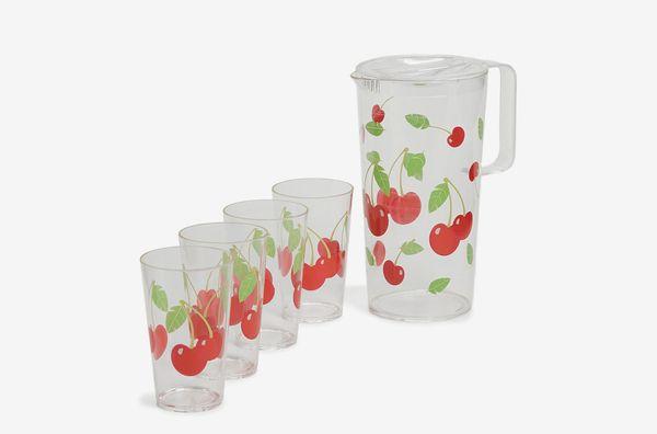 SunnyLife Cherry Party Drinkware Set