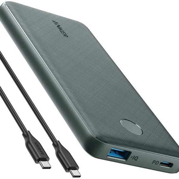 Anker PowerCore Slim 10000 PD Portable Power Bank (Green)