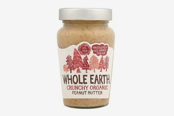 Whole Earth Organic Crunchy Peanut Butter
