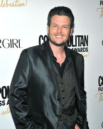 Blake Shelton attends the Cosmopolitan Fun Fearless Men and Women of 2012