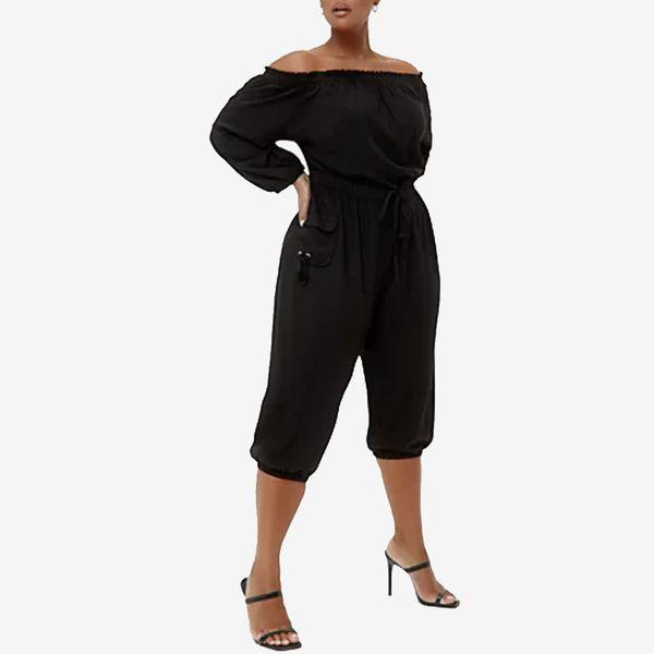 Fashion to Figure Morgan Off-Shoulder Jumpsuit
