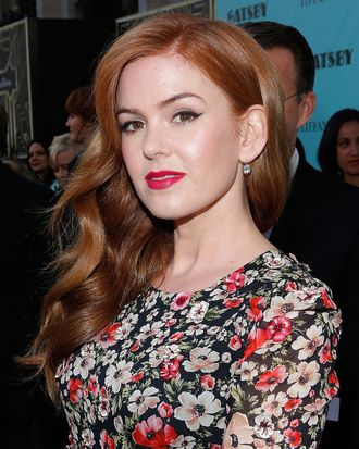 Actress Isla Fisher attends